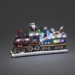 Dekoration Juletog Med LED Lys - Konstsmide