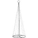 LED Juletræ 220cm 11W 2700K IP44 - Sort