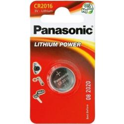 Panasonic CR2016, 3V, 90mAh, Lithium