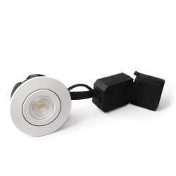 Hilux D5 LED Downlight 230V 6,5W 2700K Ra95 350Lm - Hvid