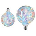 Sprinkler E27 LED Globepære Med Blink i Farver