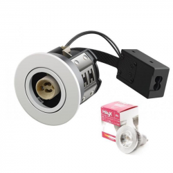 Hilux R8 LED Downlight 5W 230V 3000K Ra95 355Lm - Hvid