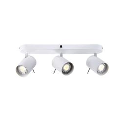 Prime 3-Skinne GU10 Loftlampe Nordlux - Hvid