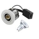 Philips AD10 LED Spot 230V 5W 2700K 65mm - Børstet