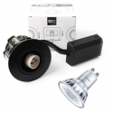 Philips D10 LED Spot 230V 5W 2700K i Sort - For Udendørs