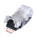 StripClip™ 10mm IP65 bånd-til-Ledning - Single Color LED bånd