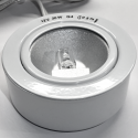 Påbygningsring i blank hvid til 12V indbygningsspot fra Flash Light