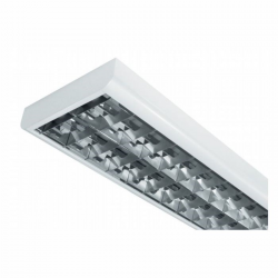 Modus Kontorarmatur 230V For 2 stk. LED RØR