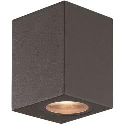 Ume Udendørs LED Væglampe i Mørkegrå