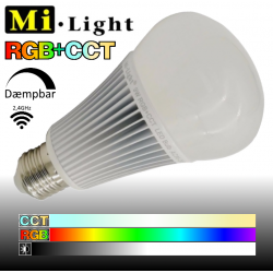 Mi•Light E27 RGB+CCT 9W 850LM 2,4GHz