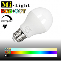 Mi•Light E27 RGB+CCT 6W 550LM 2,4GHz