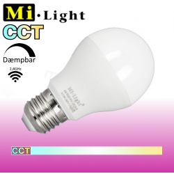 Mi•Light CCT, E27, 6W, 470LM, 2,4GHz