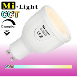 Mi•Light CCT 5W GU10 490Lm 2,4GHz