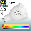 Mi•Light RGBW, GU10, 5W, 490LM, 2,4GHz