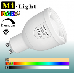 Mi•Light RGBW 5W GU10 490Lm 2,4GHz