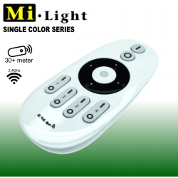 Mi•Light Single Color Touch fjernbetjening 4-Zoner 2,4GHz