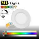 Mi•Light RGB+CCT Downlight LED panel 6W 600LM 120° spredning 2,4GHz