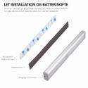 Mini LED batteri amartur med sensor 3000K Ra83