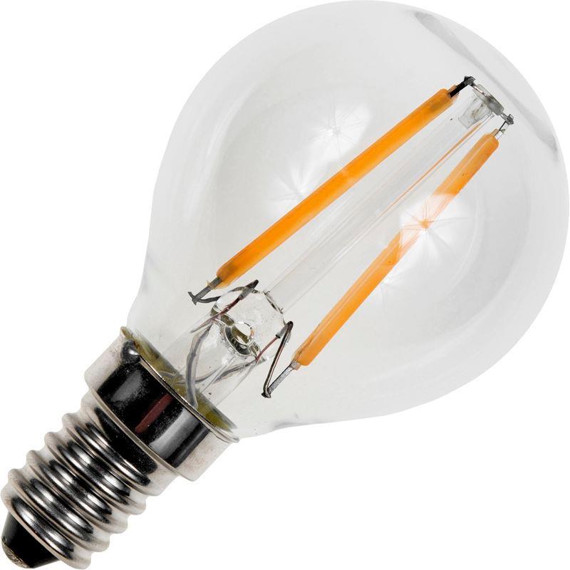 SPL DECO E14 LED Krone pære 1,5W 2500K 150Lm Ra89