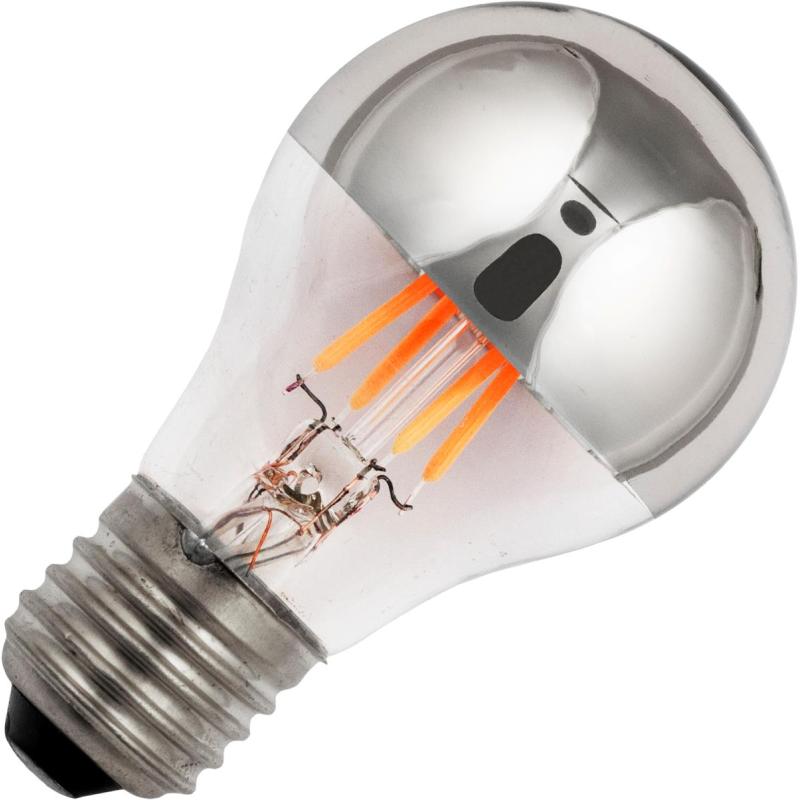 SPL E27 Topforspejlet LED pære 4W 2200K 210Lm Ra95