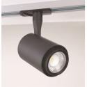 VELO 1-fase LED Skinne Spot 13W 230V i 3000K 780Lm Ra92 - Sort