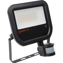 LEDVANCE LED Projektør 50W 3000K IP65 Med Sensor