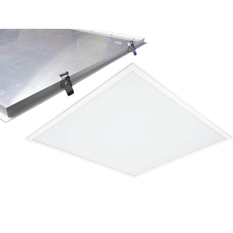 Green-ID LED Panel 60x60 36W m/Clips i 3000K 3600Lm Ra92 - Hvid Ramme