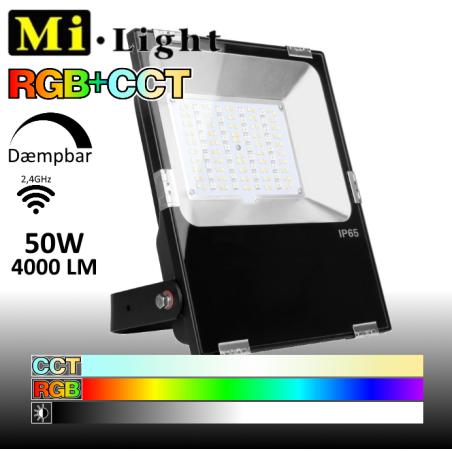 Mi•Light LED RGB+CCT Arbejdslampe 50W 4000Lm 2700k-6500k