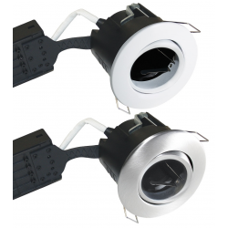 Uni Install Indbygningsspot 63mm GU10 230V Rund