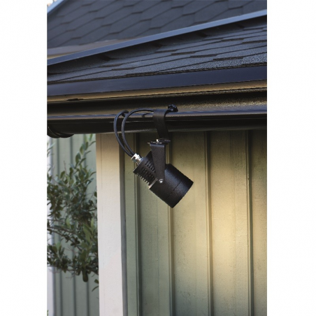 GARDEN 24 LED Spot 6W i 3000K 330Lm IP44 - Sort