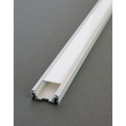 Aluminiumsprofil - Model S Med Milky Cover