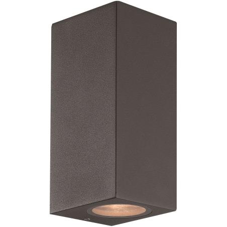 Ume Dobbelt Udendørs Væglampe i Mørkegrå IP65