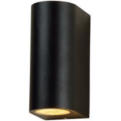 Sacramento Udendørs Væglampe GU10 IP44 Dobbelt - Sort