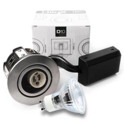 D10 Classic Udendørs LED spot 230V 4W 250Lm 2700K 65mm - Rustfri stål