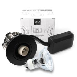 D10 Classic Udendørs LED spot 230V 250Lm 2700K 4W 65mm - Hvid
