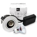 D10 Classic Udendørs LED spot 230V 345Lm 2700K 4W 65mm - Hvid
