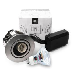 D10 Classic Udendørs LED spot 230V 345Lm 2700K 4W 65mm - Rustfri