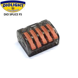 DIO SPLICE F5 1-polet samlemuffe 1-400V - Til 5 kabler