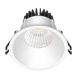 Velia LED Downlight 10,9W Ra96 230V - Mat Hvid