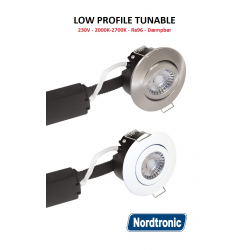 Low Profile LED Downlight 8W 2000-27000K Ra96 230V