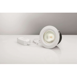 LED Downlight 13W i 3000K 830Lm Ra92 230V IP44 - Hvid