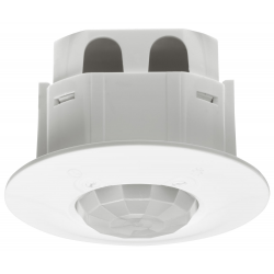 Loft Sensor Til Indbygning 230V i Hvid - For inde og udendørs