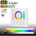 Mi•Light RGB+CCT vægpanel til batteri 2,4GHz - 1 Zone