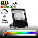 Mi•Light 10W LED Projektør RGB+CCT 900Lm 2700k-6500k