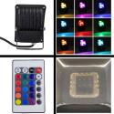 Diolight IR RGB LED Projektør 230V 10W