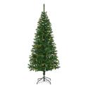 Kunstig Juletræ 150cm Med 80 LED Lys - Udendørs