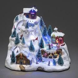 Dekoration Julelandskab Med LED Lys - Konstsmide