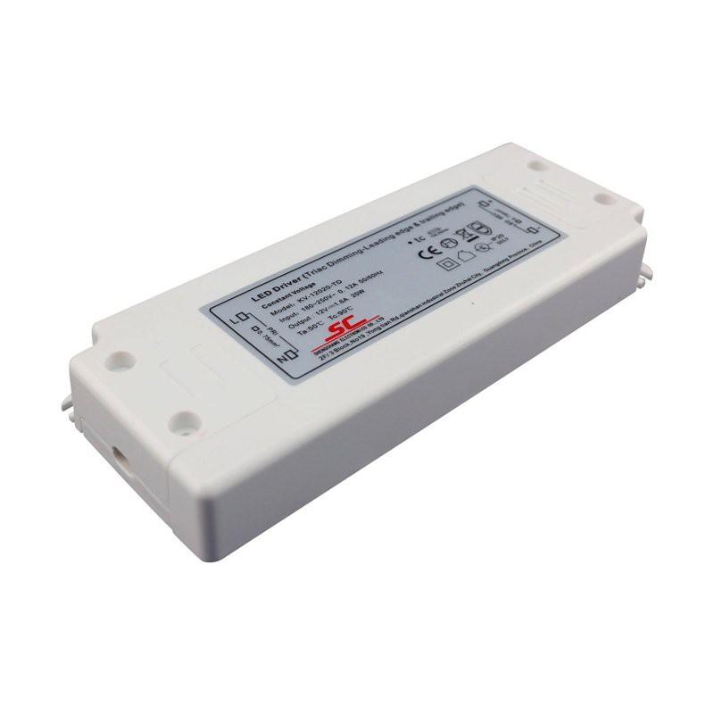 Kvalitets LED Driver 12V (IP67 Udendørs) Stabil 0-100W