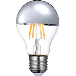 S19-D Topforspejlet E27 LED Pære 6W 2700K 480Lm Ra90