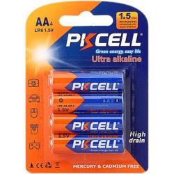 PKCELL Ultra AA 1,5V Alkaline 2600mAh - 4-pak